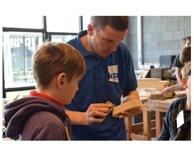 """Leerlingen uit het basisonderwijs bezoeken ons KTA tijdens de """"doe-dagen"""""""
