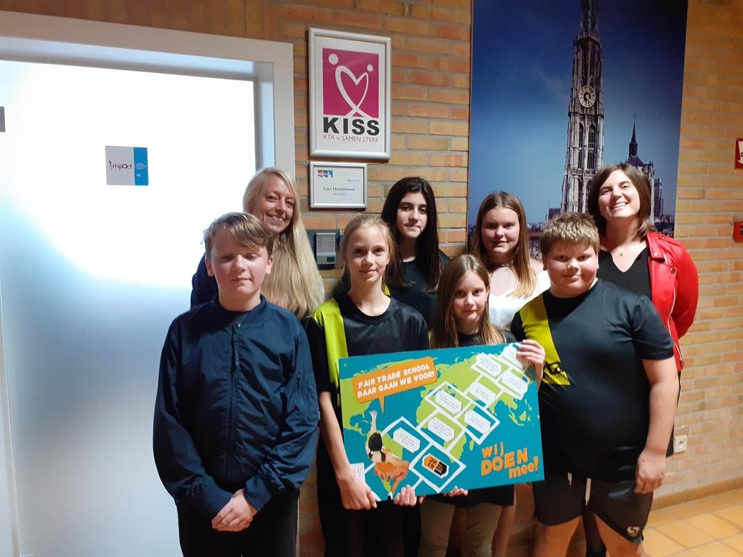 KTA Brugge is een Fair trade school!