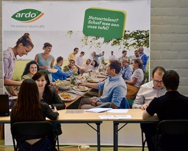 KTA Brugge en bedrijven leren samen leerlingen solliciteren