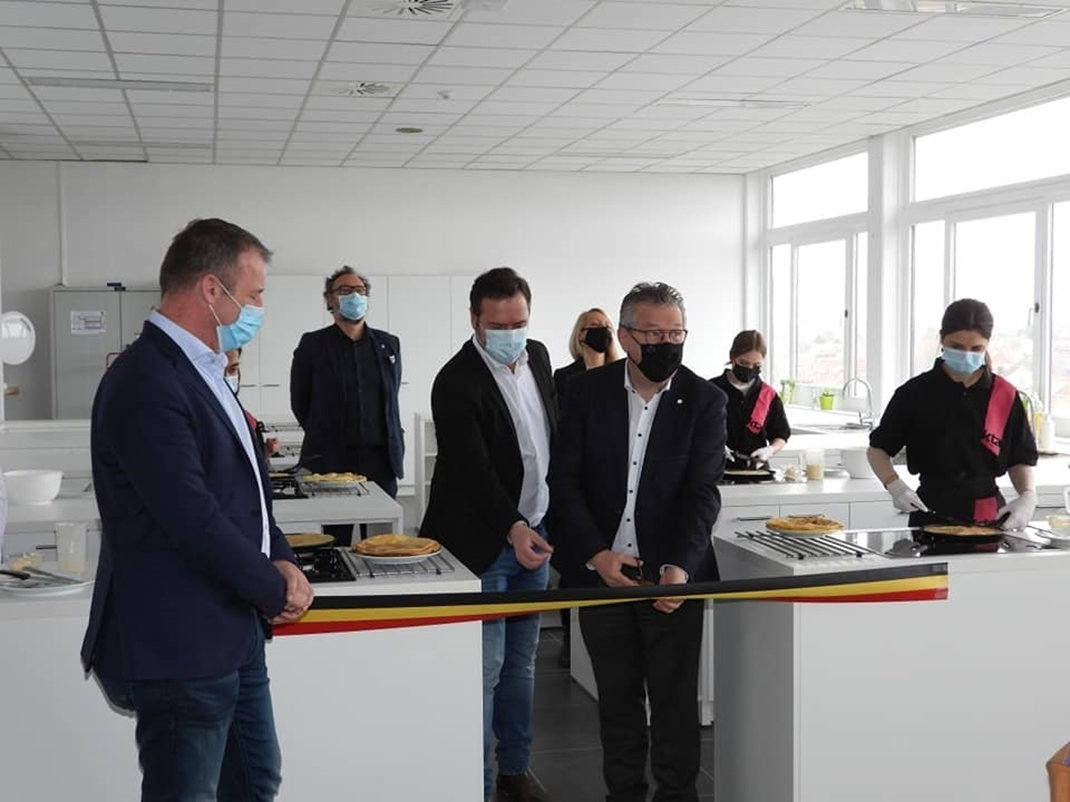 KTA Brugge neemt vernieuwde, hypermoderne praktijkruimtes in gebruik